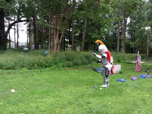 The Syracuse Silver Knight loves bocce ball, and we love soccer!