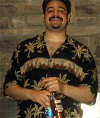 A pic of Paul from the first ever day of Turbo Bocce in 2005.