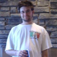 A pic of Phil from the first ever day of Turbo Bocce in 2005.