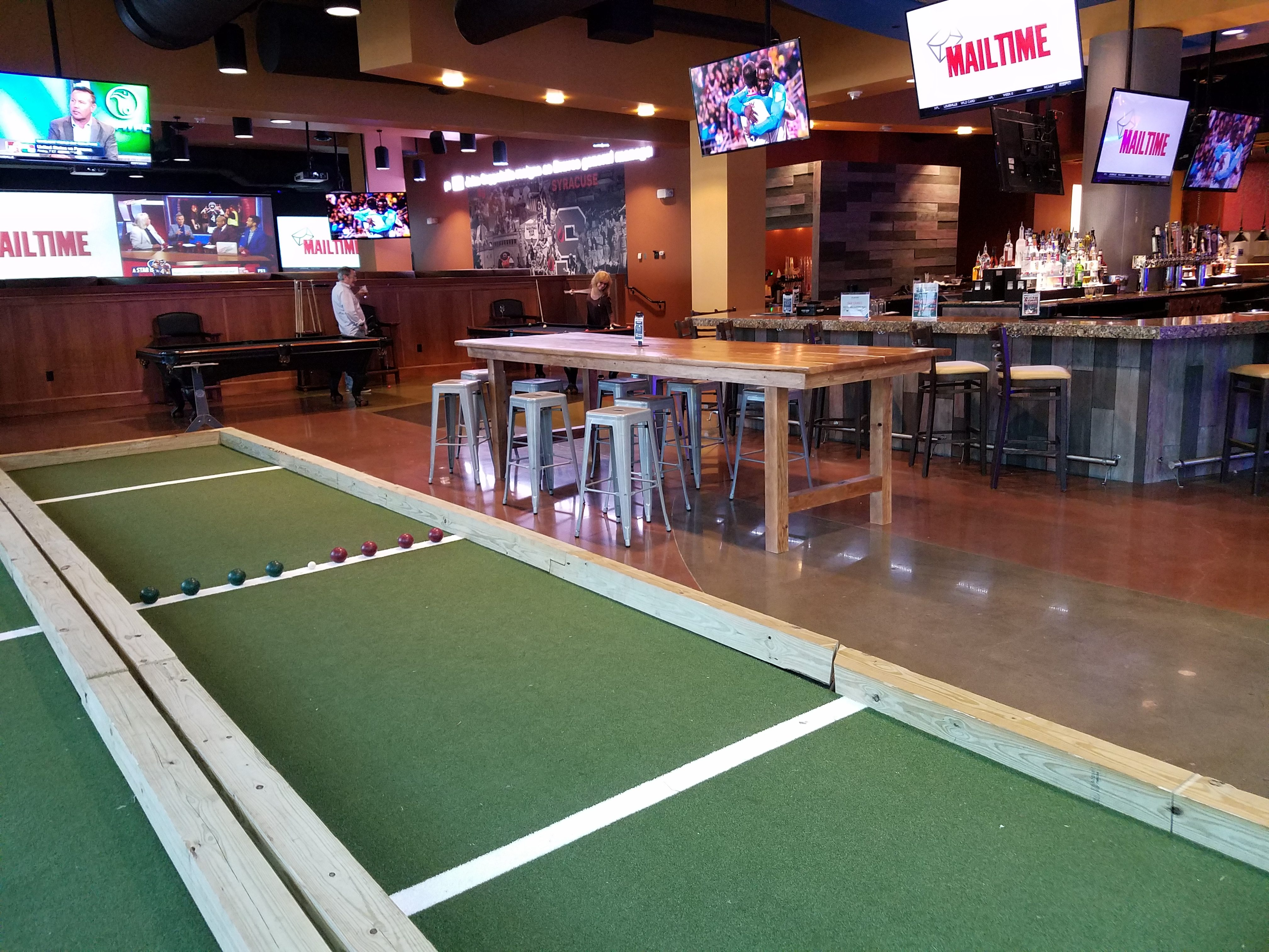awesome indoor bocce ball court pictures amazing house